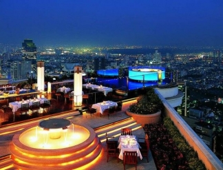 르 부아 앳 스테이트 타워 / Lebua at State Tower Bangkok, Thailand